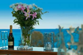 Hotelroom view, Kamari, Santorini