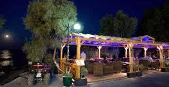 Black Sand Hotel Oxygen Restaurant, Kamari